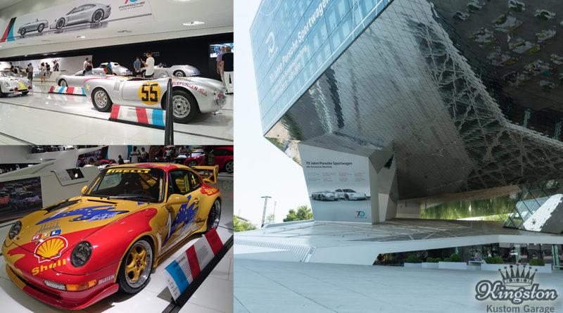 Porsche Museum visit in Stuttgart Germany