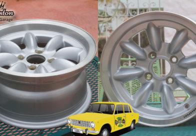 Lada 2101 – New Wheels/Rims Panasport 13×6